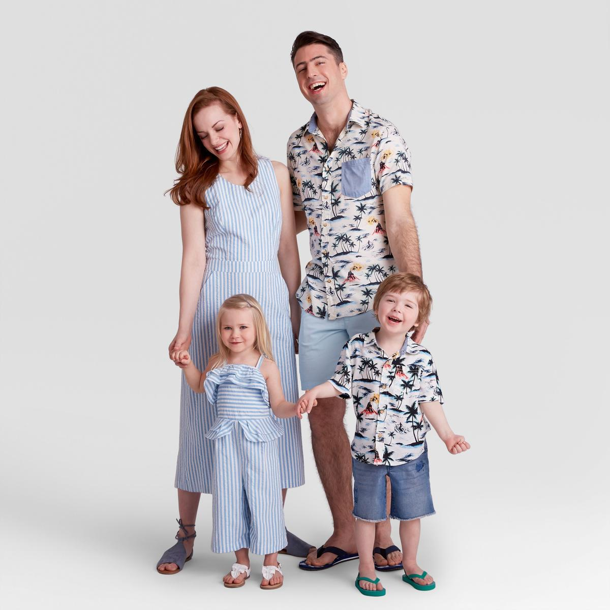 Target's Latest Collection Has the Whole Family Summer Barbecue Ready in Effortless Matching Outfits