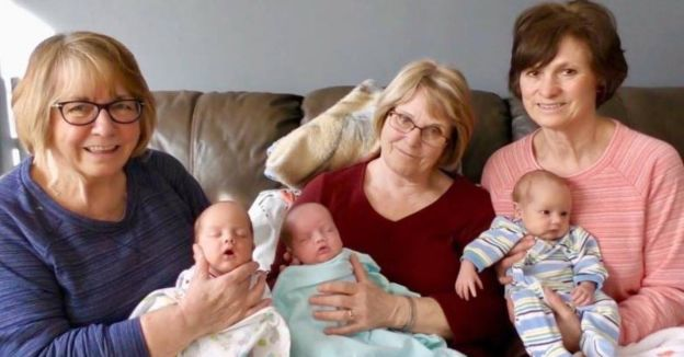 Single Mom of Triplets Found Help From 3 'Fairy Grandmothers' on Facebook