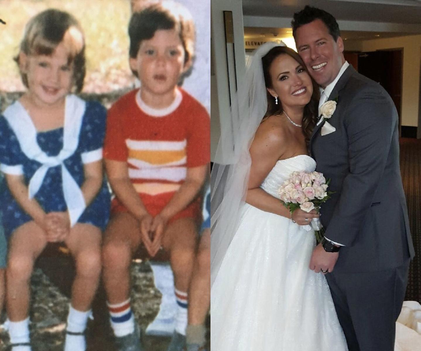 Preschool Sweethearts Who Reconnected After 30 Years Welcome Rainbow Baby