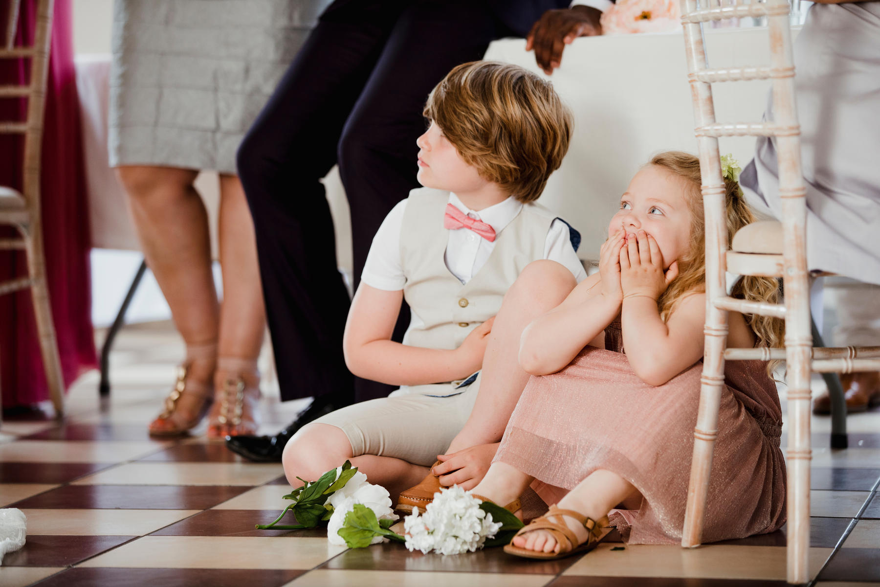 6 Foolproof Tips for When Your Kid's a Flower Girl or Ring Bearer