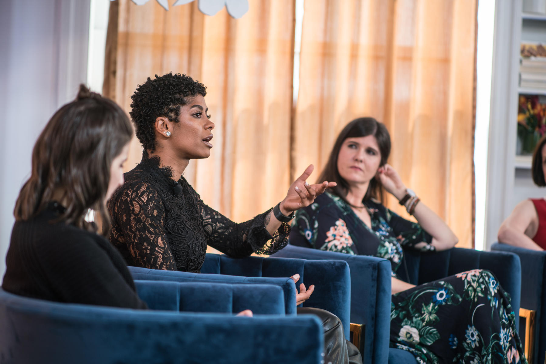 Massy Arias Speaking At The Power Mom Panel