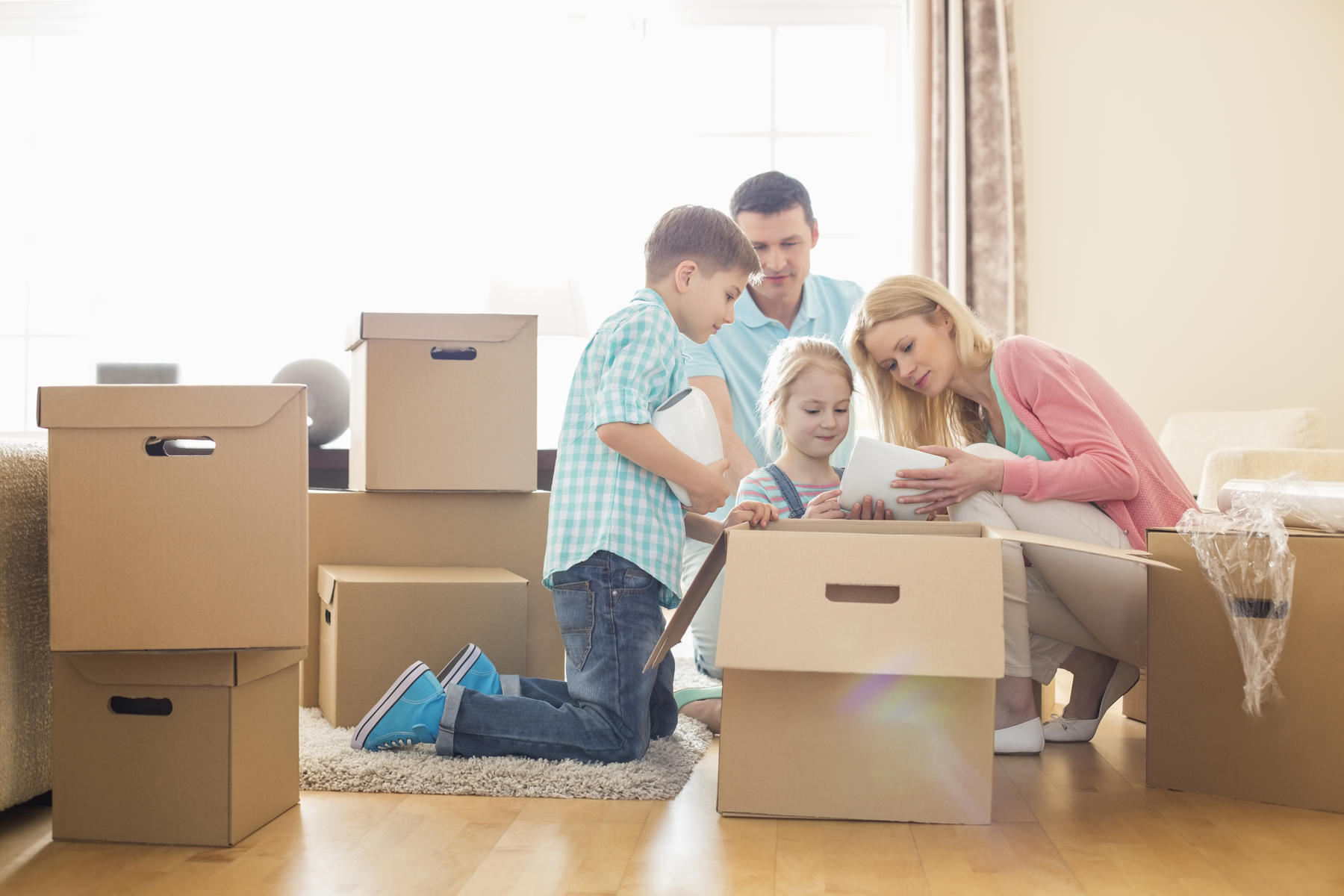 How to Make Military Family Moves Easier on Your Kids