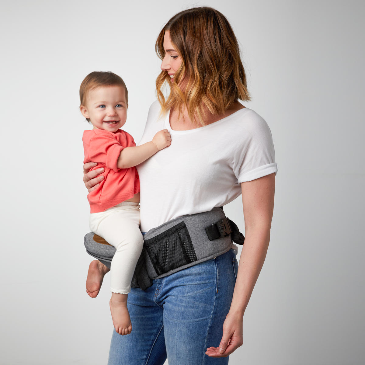 The Tushbaby Carrier May Just Solve All Your New Baby Back Problems