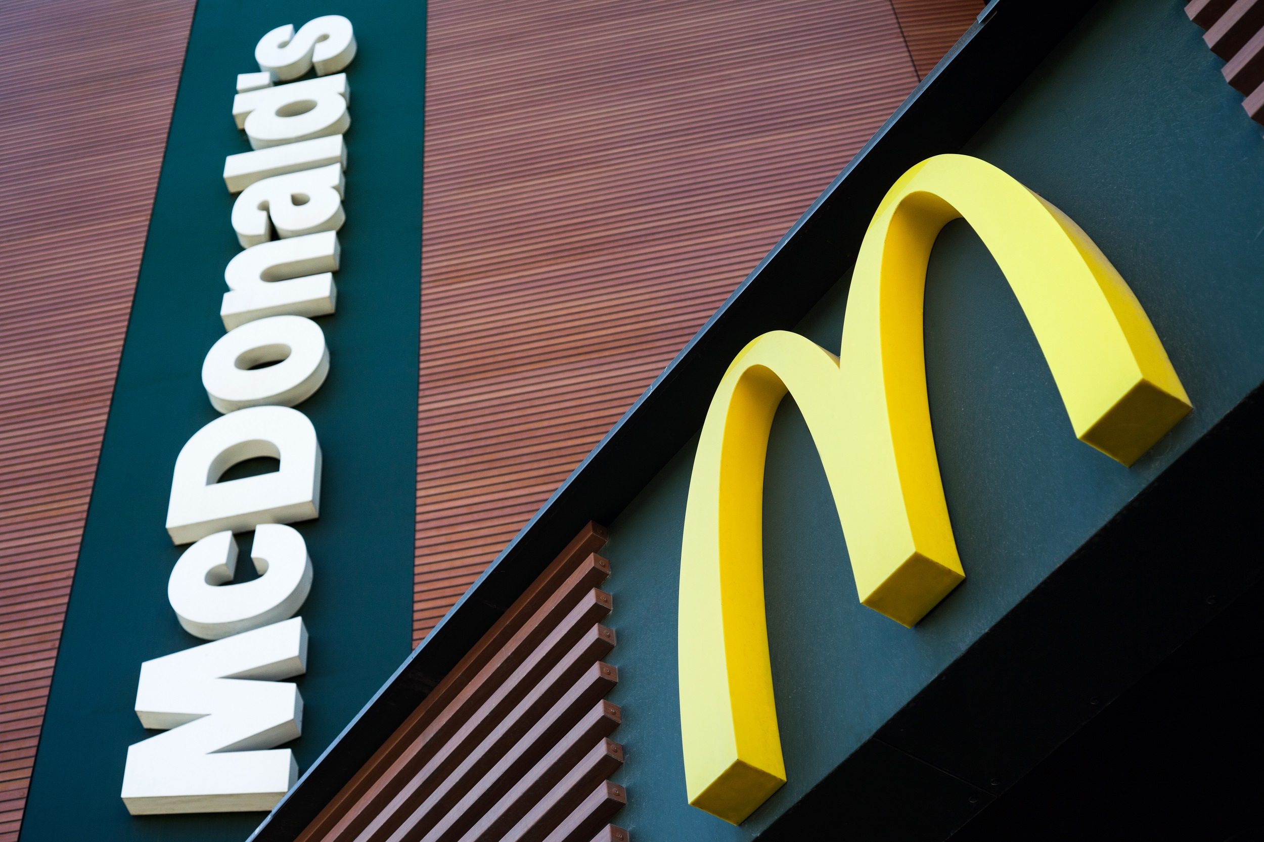 McDonald's Storefront Sign and Logo