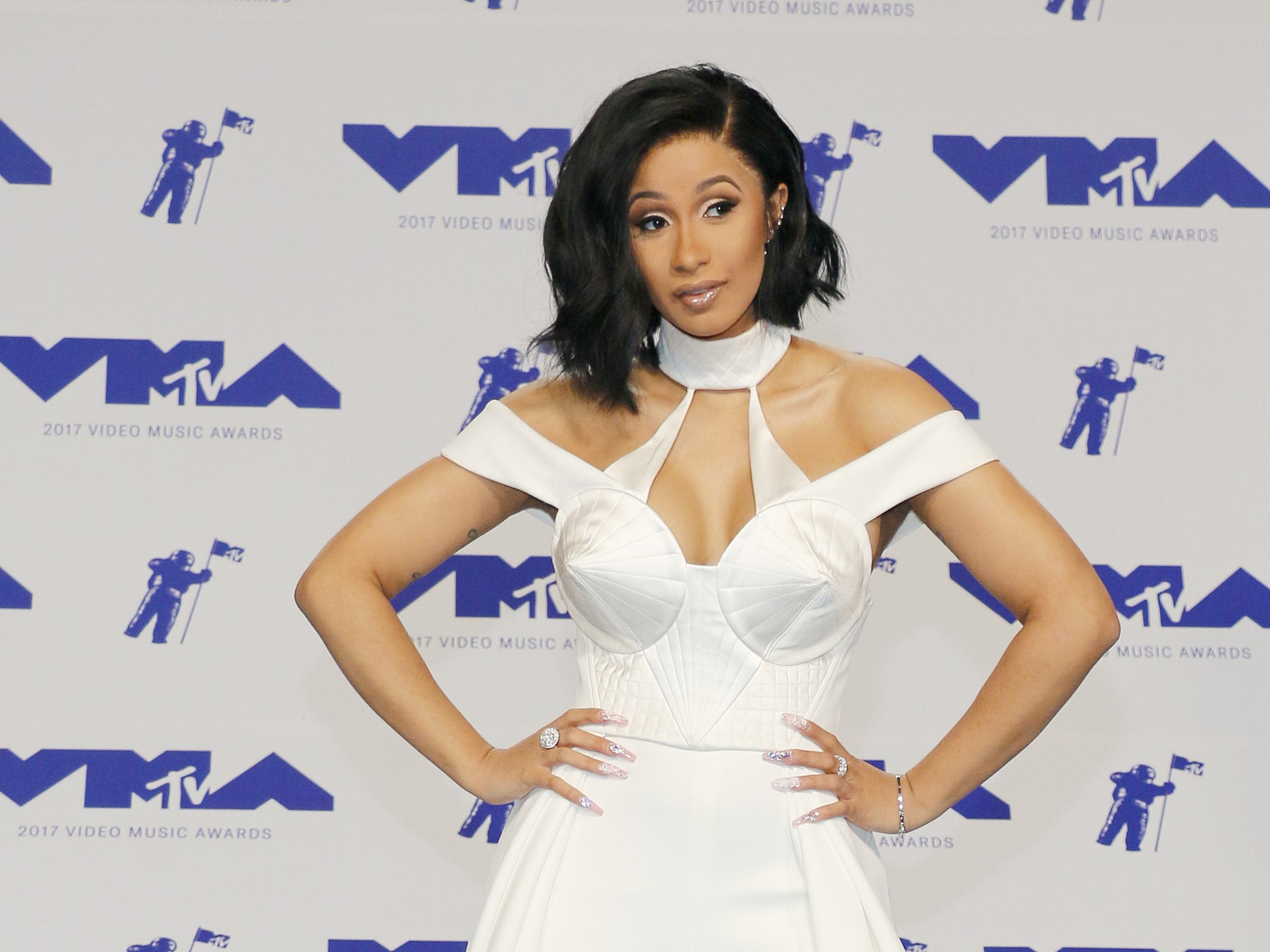 Cardi B Shows Off Her Newborn Daughter Kulture's Lavish Gold Crib—Complete with a Crown!