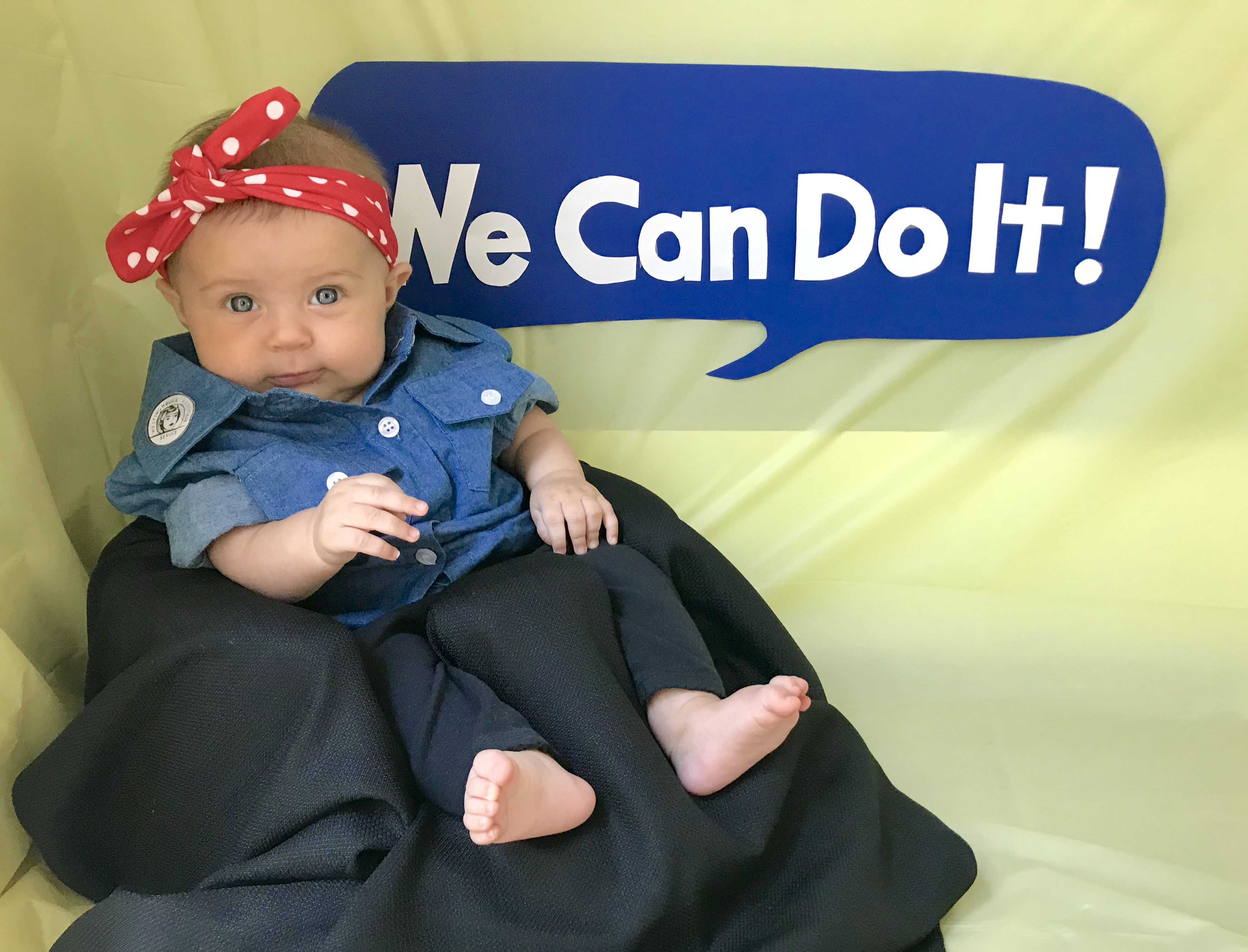 Photos of a Baby Girl Dressed Up Like Influential Women From History Are Just Perfect