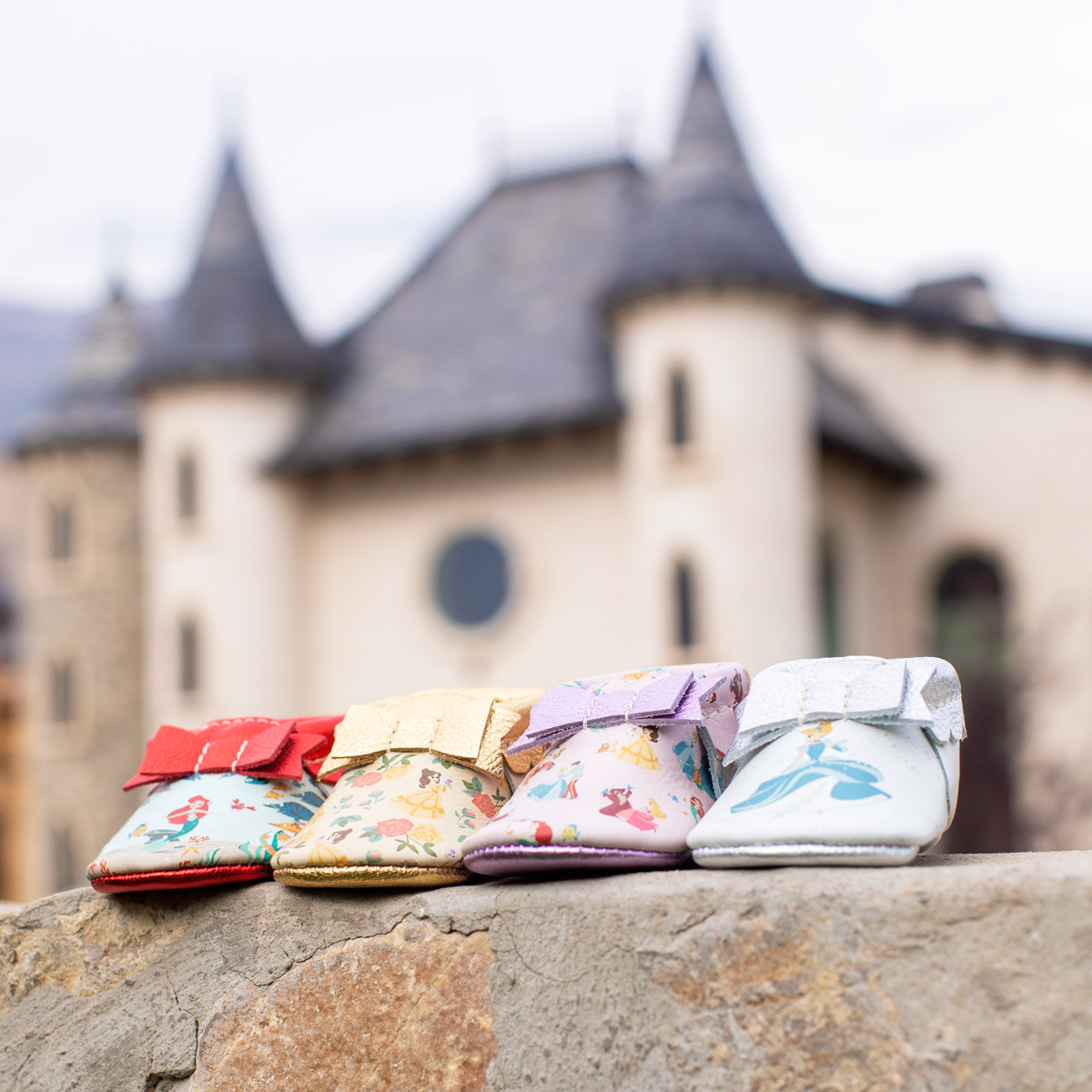 Every Little Princess Needs a Pair of Shoes From Freshly Picked's Disney-Themed Moccasin Collection