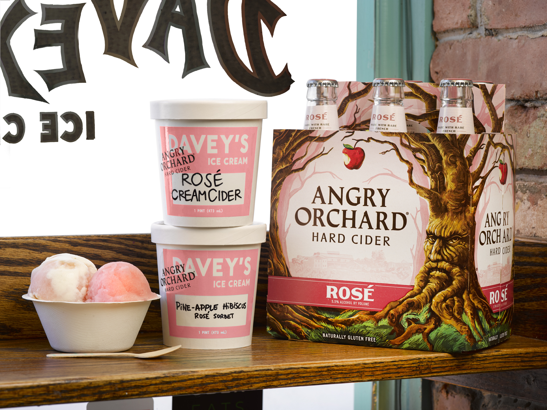 Angry Orchard Rosé Now Comes in Two Very Exclusive Ice Cream Flavors