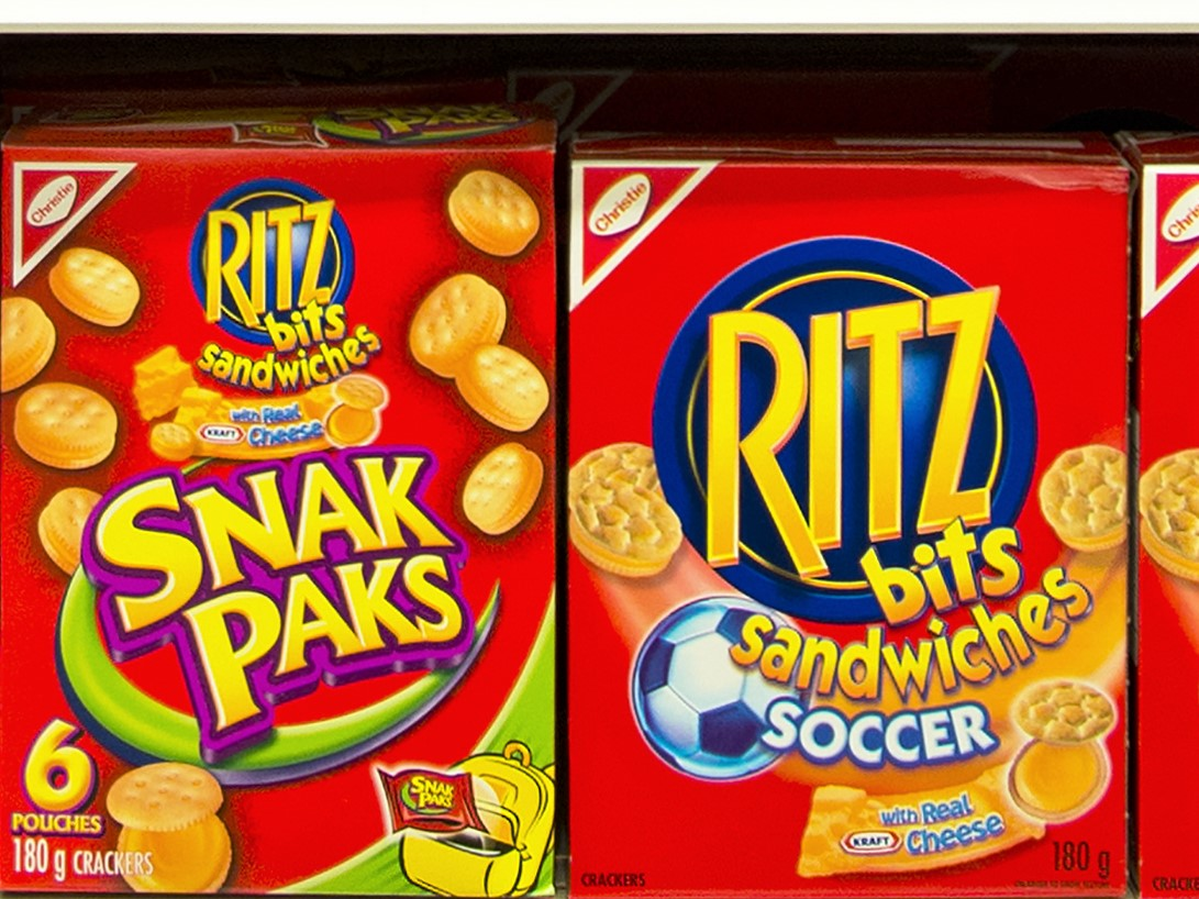 Ritz Crackers Bits Cheese Sandwich Snacks