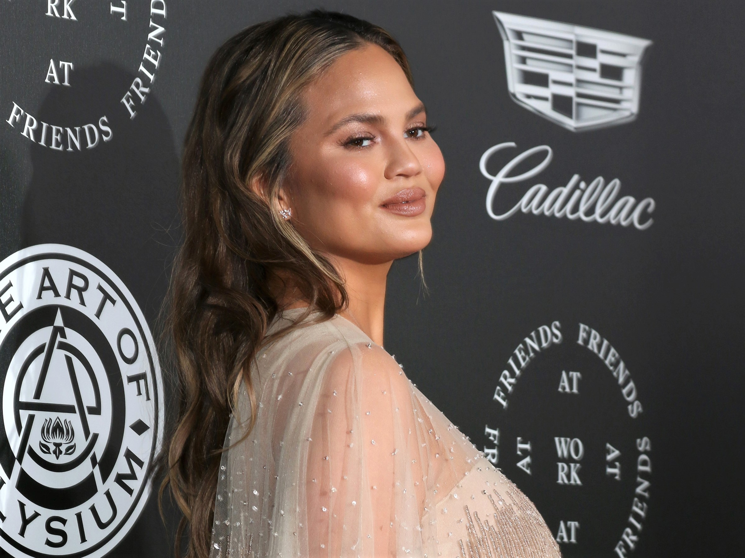 Chrissy Teigen 'Projectile Puked' at Daughter's School Orientation: 'It Wasn't First Day Jitters'