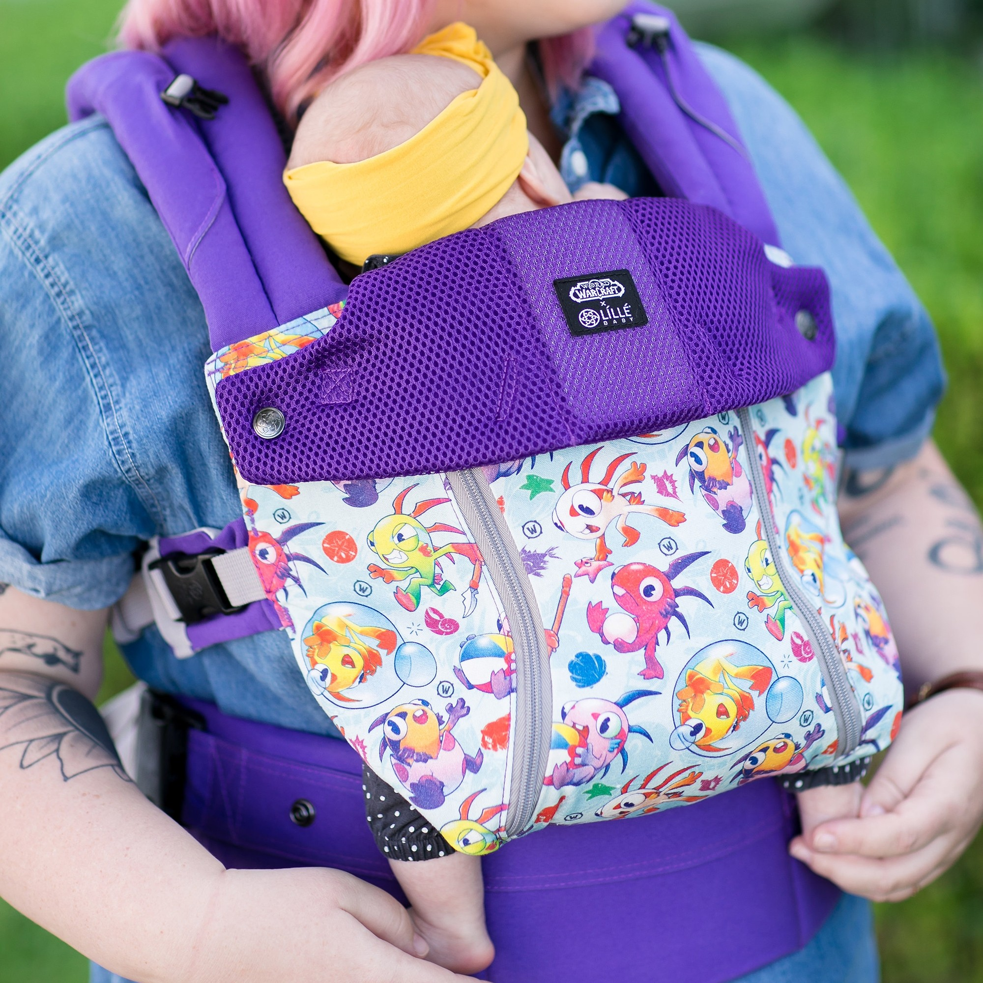 Now You Can Rock a LILLEbaby Baby Carrier Featuring 'World of Warcraft' Characters