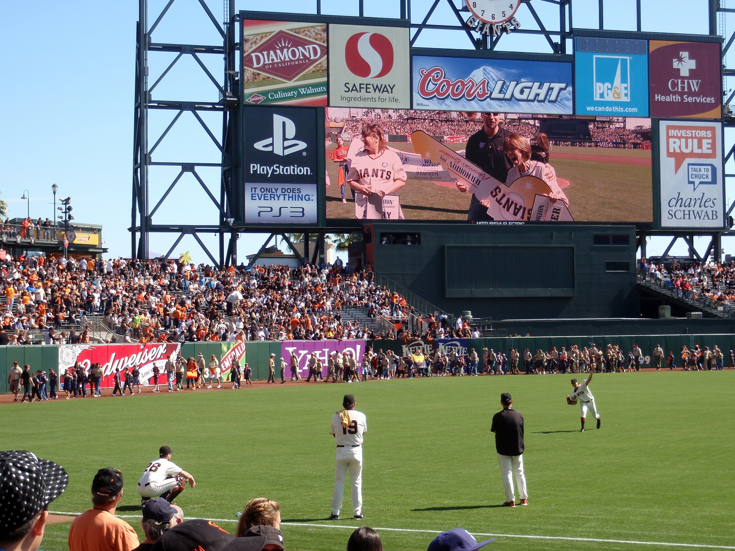 Teen Is Totally Mortified as Adults Dance Around Him on the Jumbotron at Padres Game