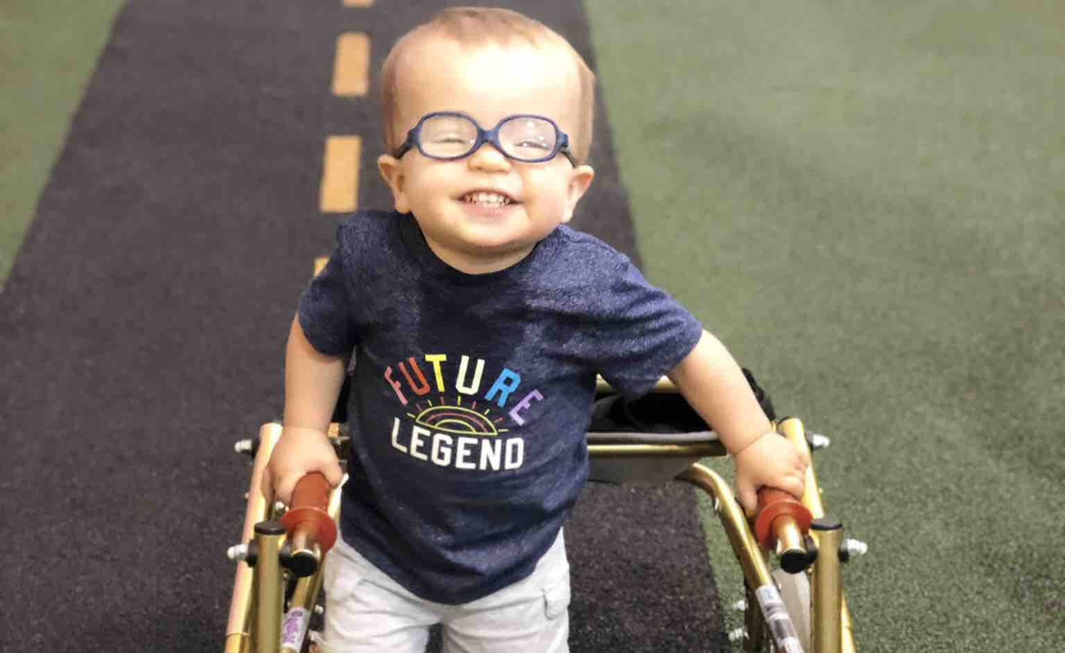 Video of a Boy With Spina Bifida Learning How to Walk Is So Heartwarming