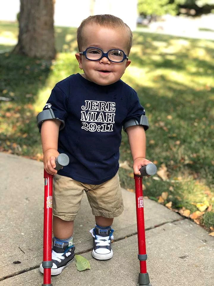 Meet the 2-Year-Old Kansas Boy with Spina Bifida Who Has Stolen the Internet's Heart!