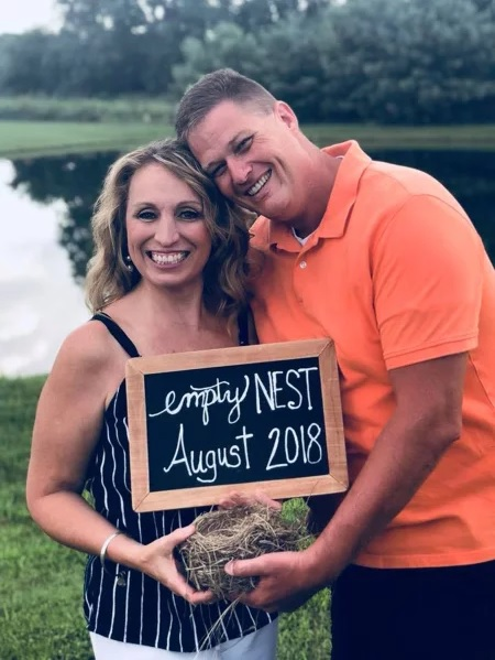 Grateful Parents Celebrate Kids Going to College with Hilarious 'Empty Nest' Photoshoot