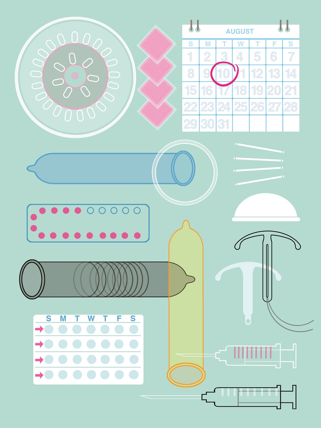 Birth Control Illustration