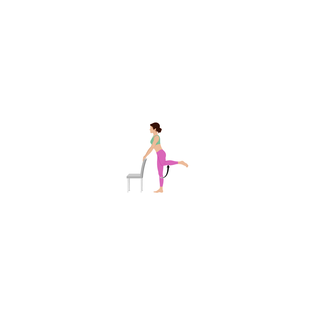 Barre Workout Illustration Fire Hydrant