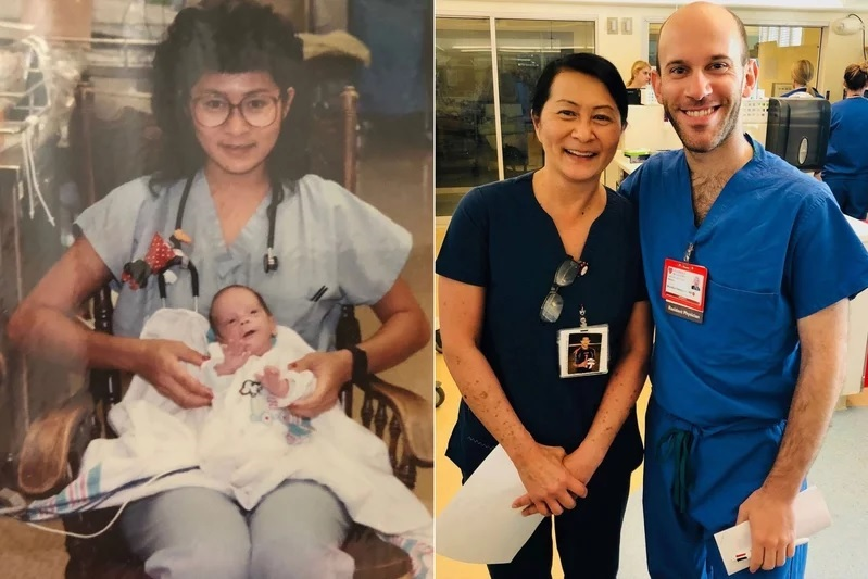 California Nurse Discovers Premature Baby She Cared for 28 Years Ago Is Now Her Colleague