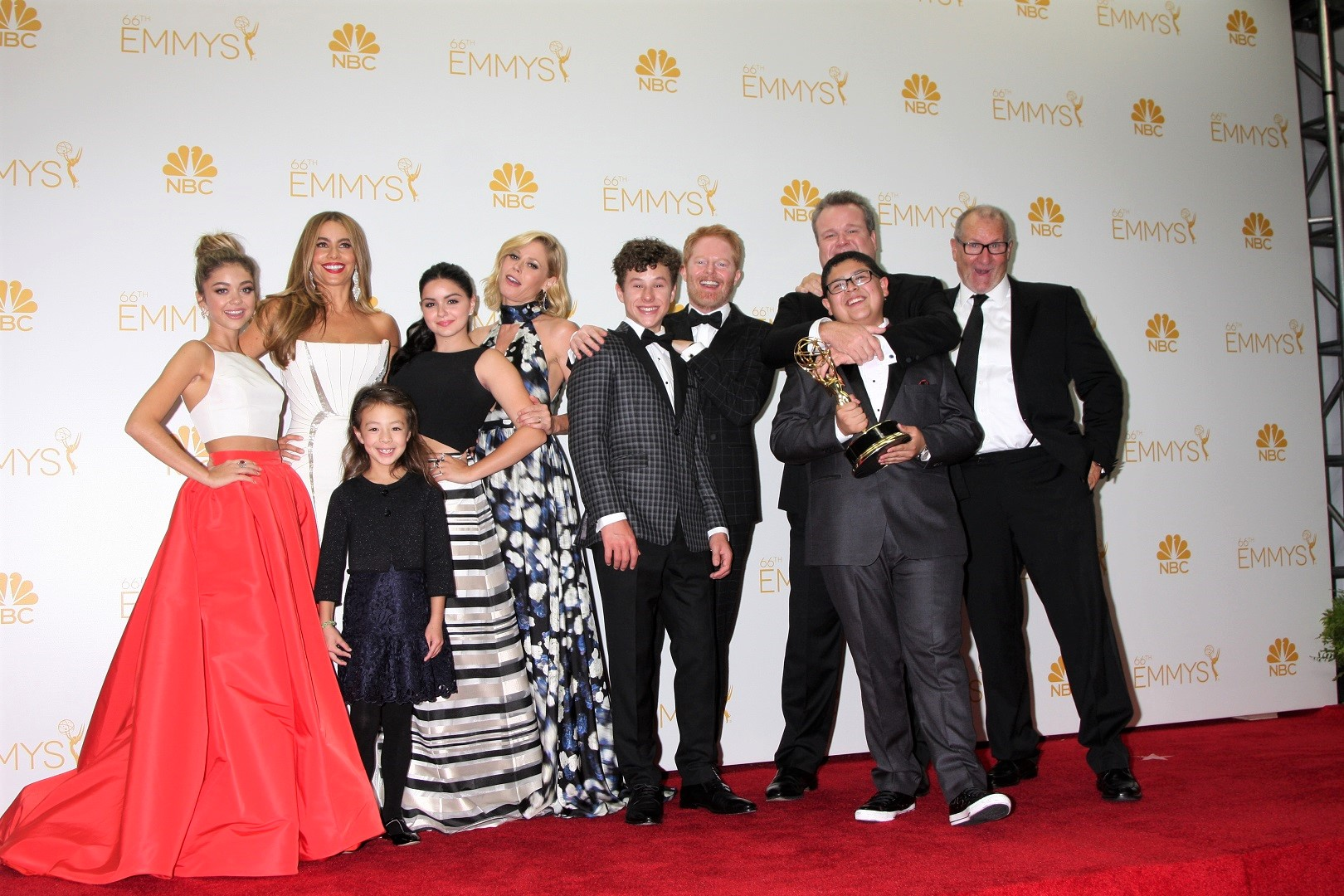 Modern Family Cast Red Carpet