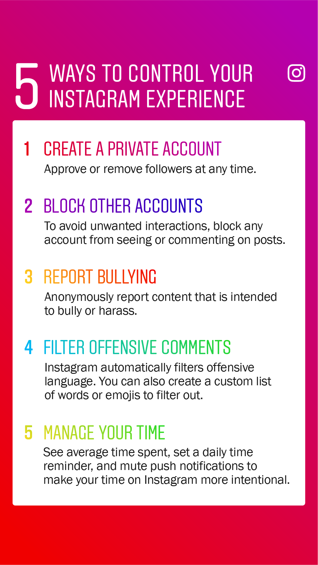 Instagram Guidelines for Parents