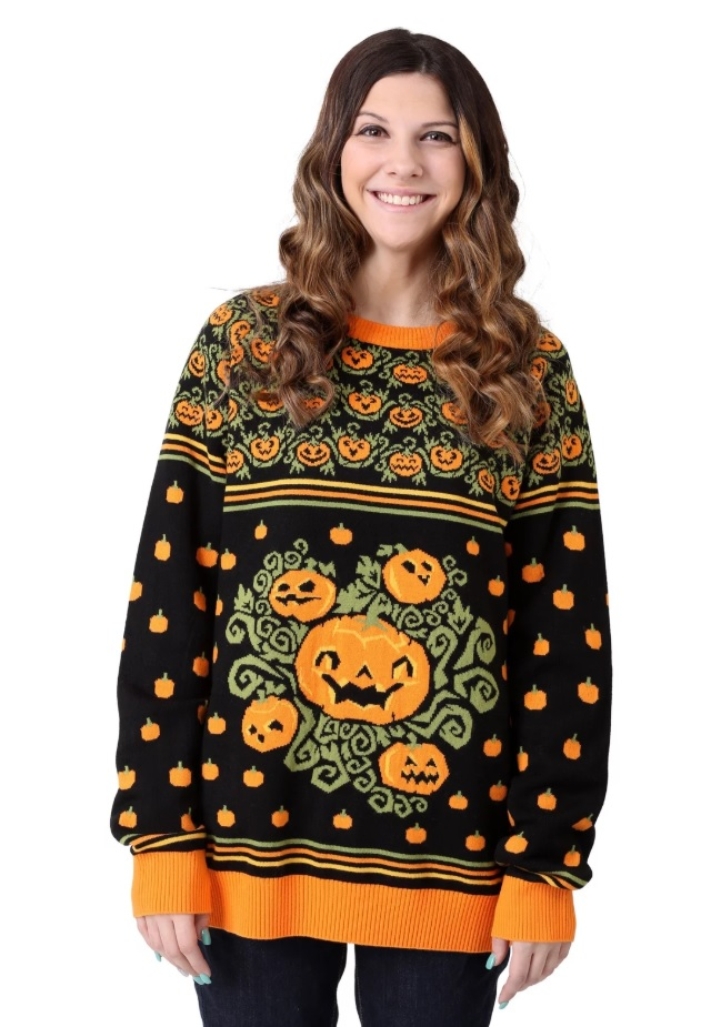 Ugly Halloween Sweaters Are a Thing - and They're the Ultimate Lazy Costume Idea