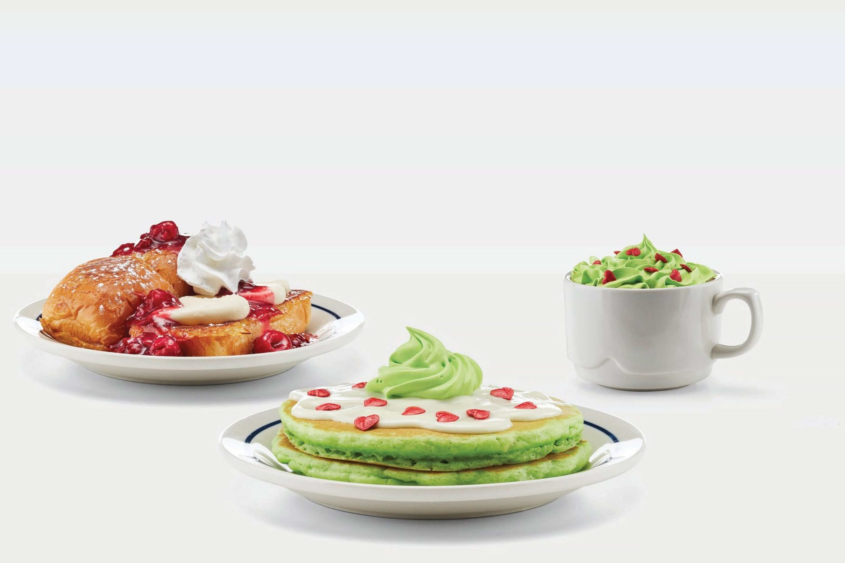 IHOP Debuts Grinch-y Green Pancakes for the Holidays