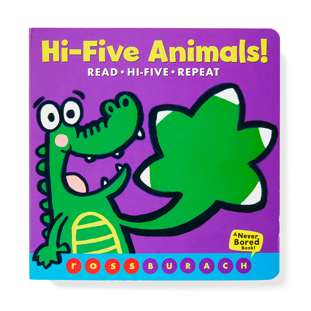 Hi-Five Animals! purple book