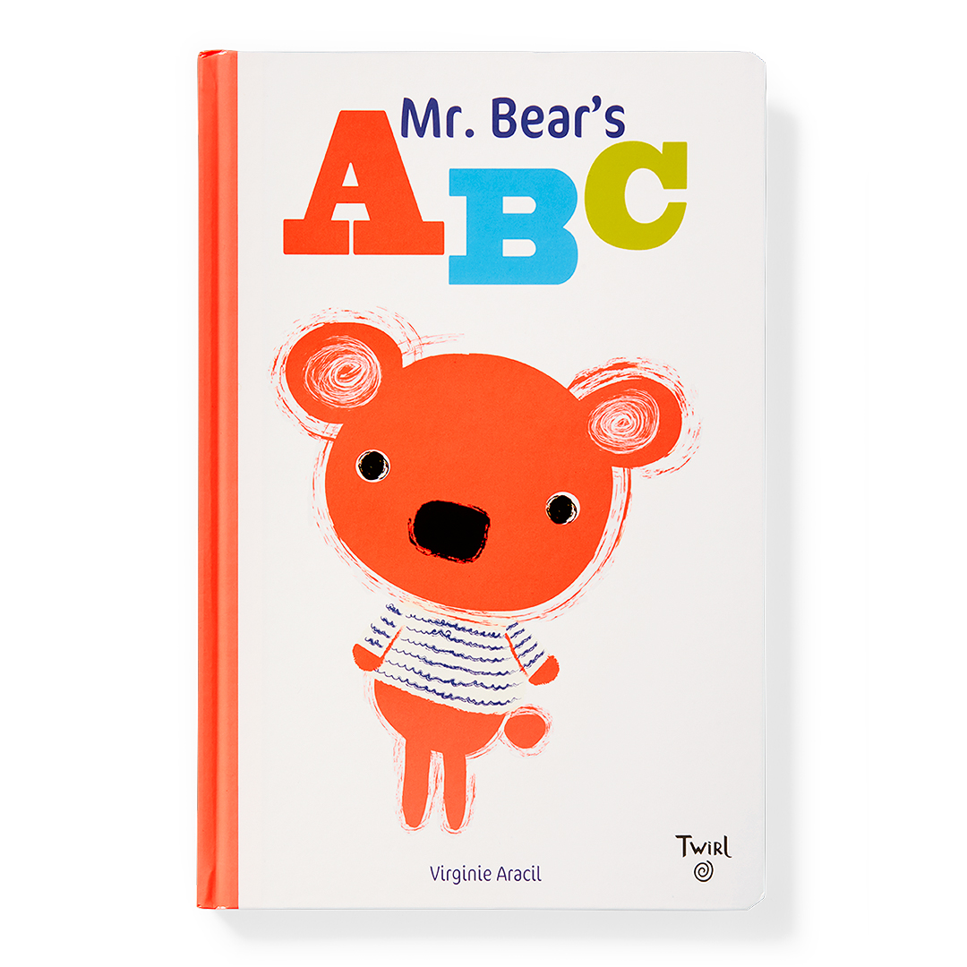 Mr. Bear's ABC white book