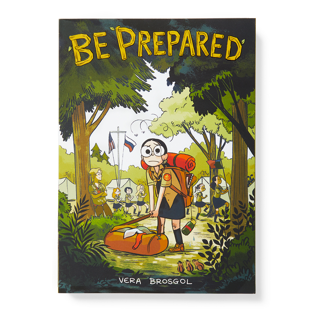 Be Prepared book camping in woods