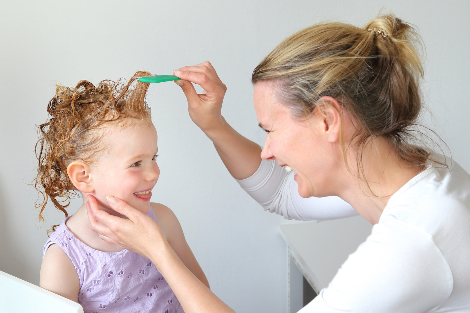 Combing Lice and Nits