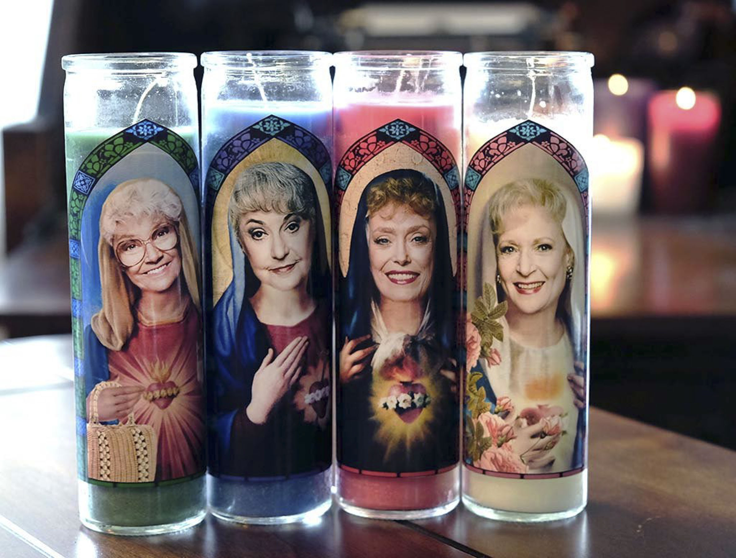 Praise Be! Light Up Your Holiday Season with These Golden Girls Candles—Yes, Really