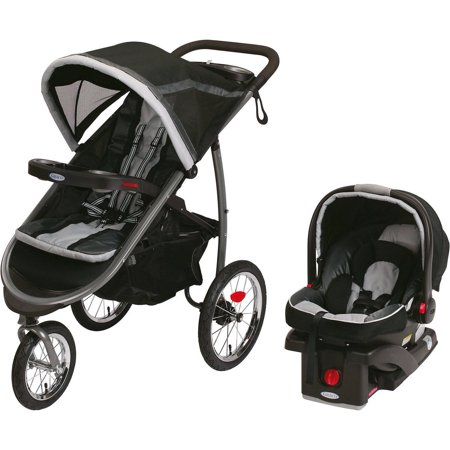 Graco FastAction Fold Jogger Click Connect Travel System Jogging Stroller, Gotham .jpeg