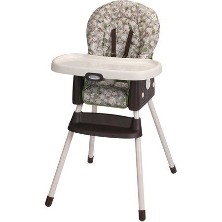 Graco SimpleSwitch 2-in-1 High Chair, Zuba