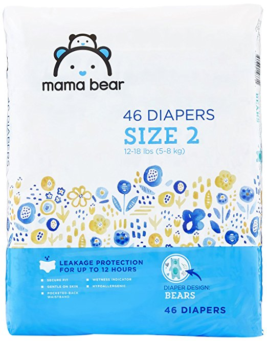 Amazon Brand Diapers & Vitamins