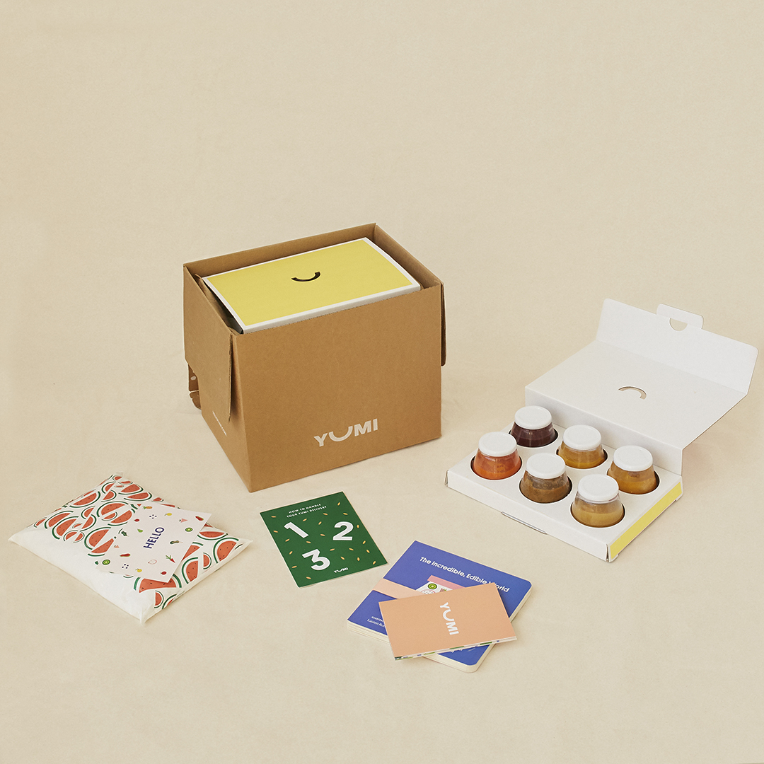 Yumi subscription box for babies