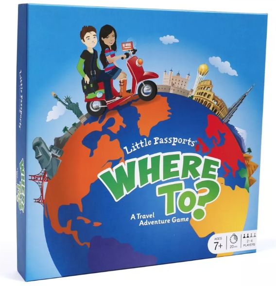 Where To? A Travel Adventure Game