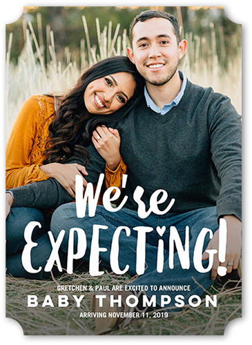 Expecting Pregnancy Announcement