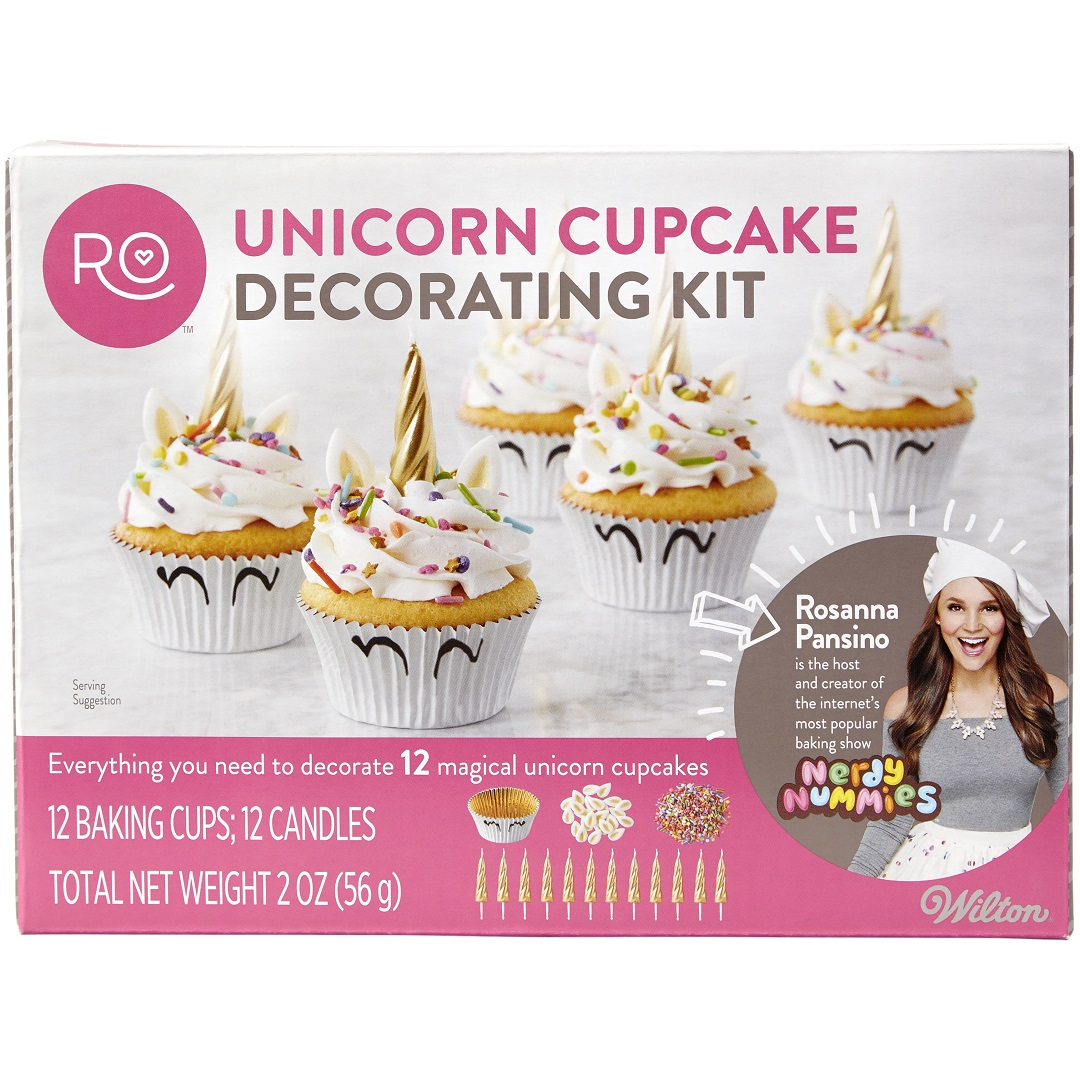 Rosanna Pansino Unicorn Cupcake Decorating Kit