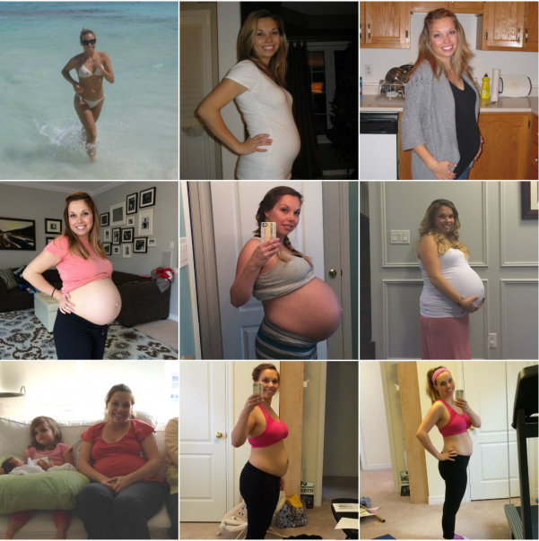 Pregnancy Weight Loss Inspiration from a Mom of Four