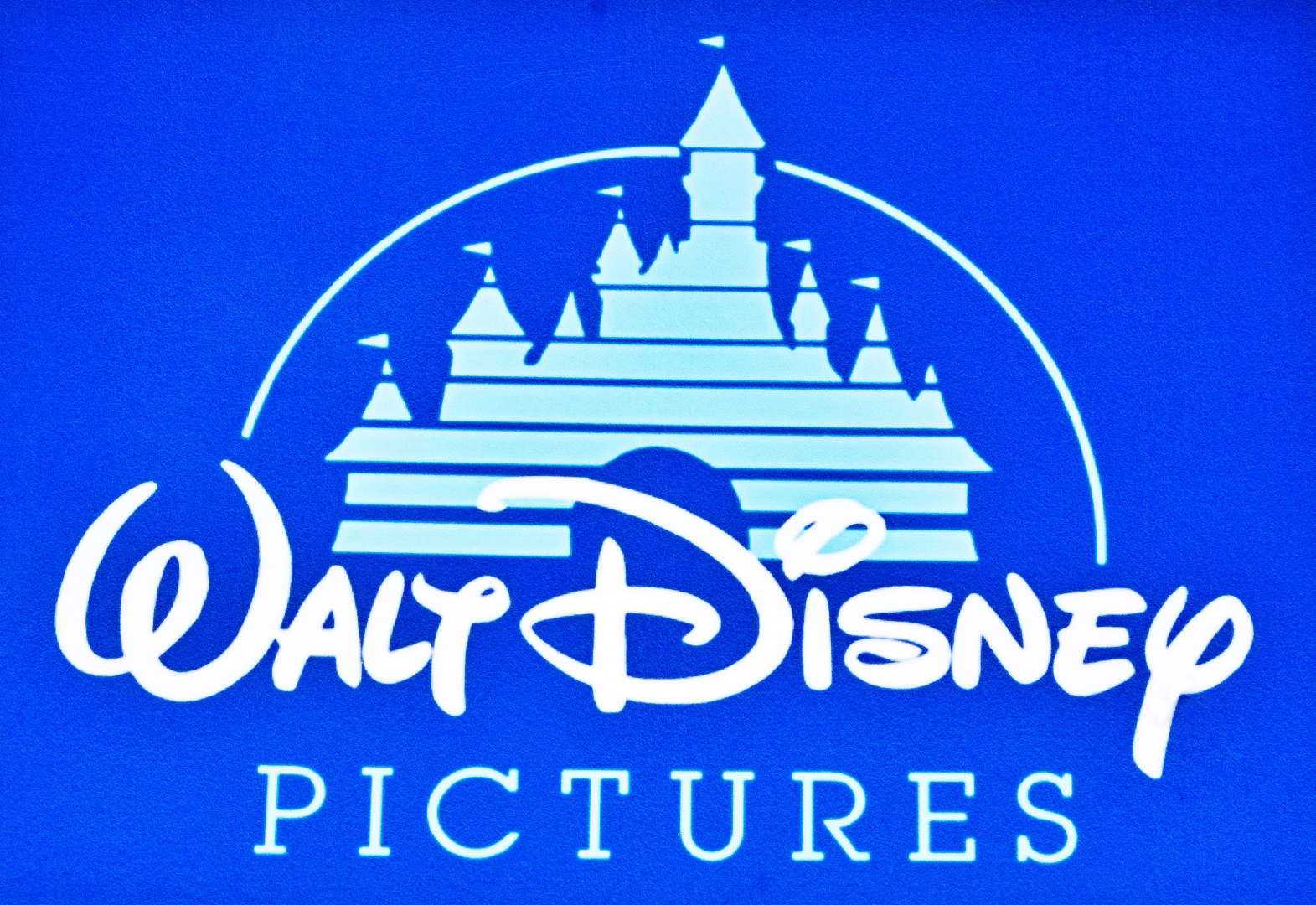 Walt Disney Pictures Logo Blue Background