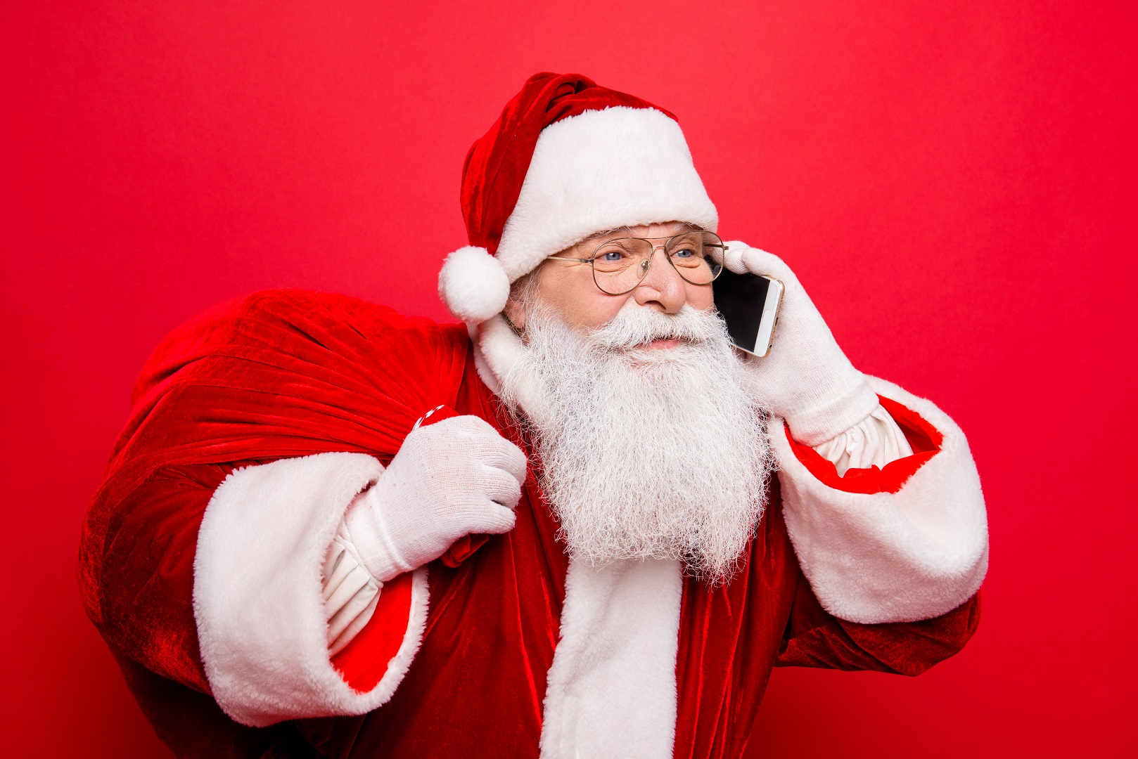 Forget Stamps, You Can Reach Santa Claus By Phone