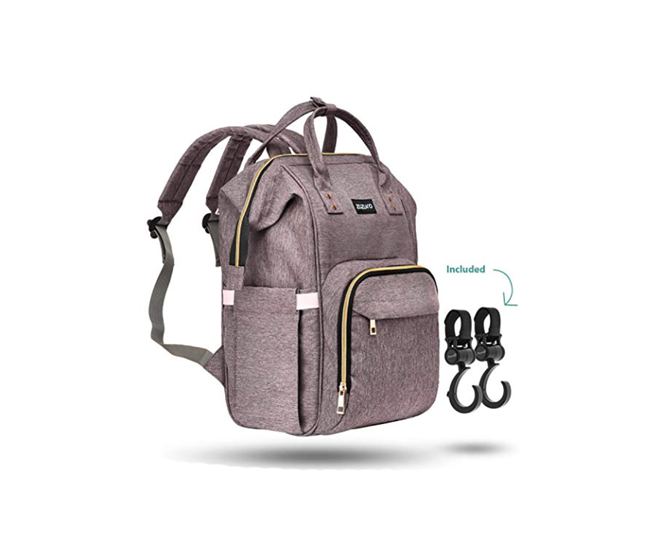 Zuzuro Backpack Diaper Bag