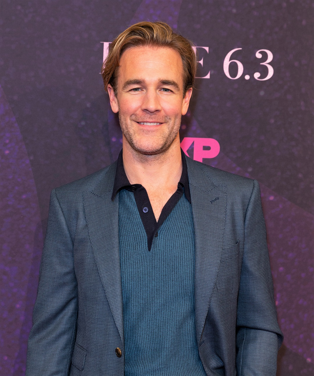 James Van Der Beek Blue Blazer 2018