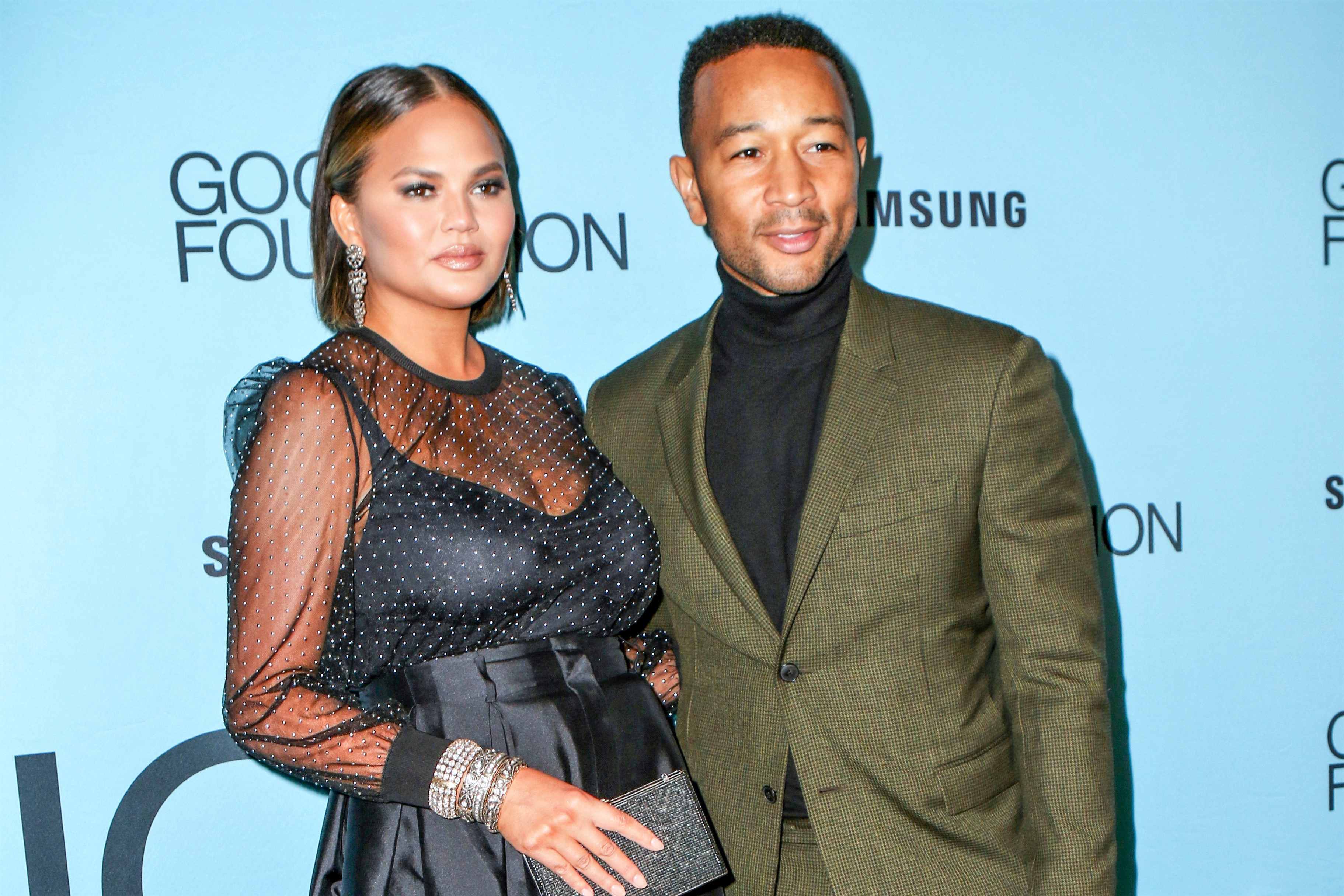 Chrissy Teigen Shares Sweet Snaps of Son Miles Dressing Up for Dad's 40th Birthday: 'Mini-John'