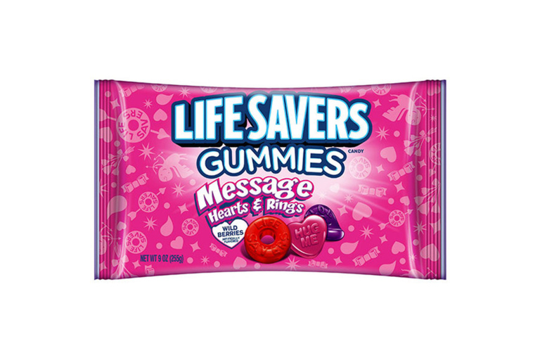 Lifesavers Gummies Message Hearts and Rings