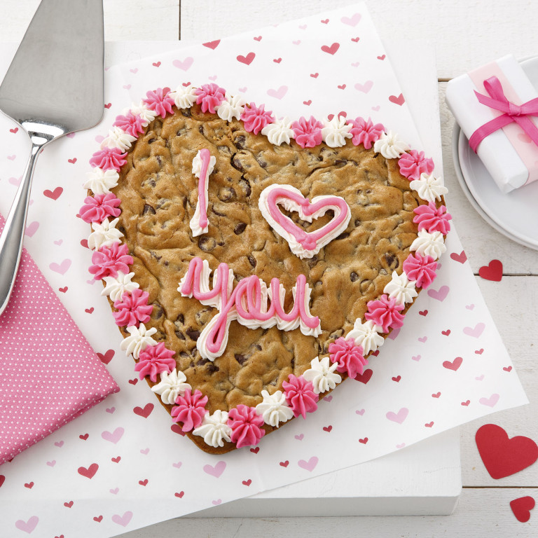 Mrs Fields Have A Heart Cookie Cake