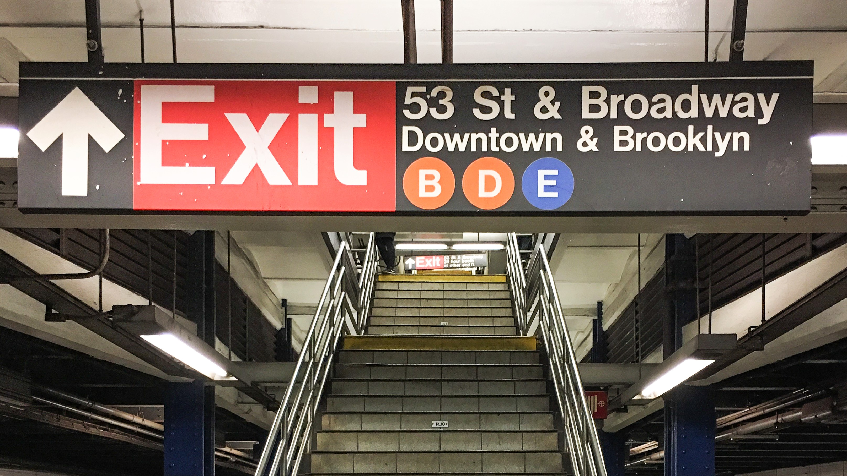 Young Mother Holding Her Baby Daughter Falls to Her Death Down New York Subway Station Stairs