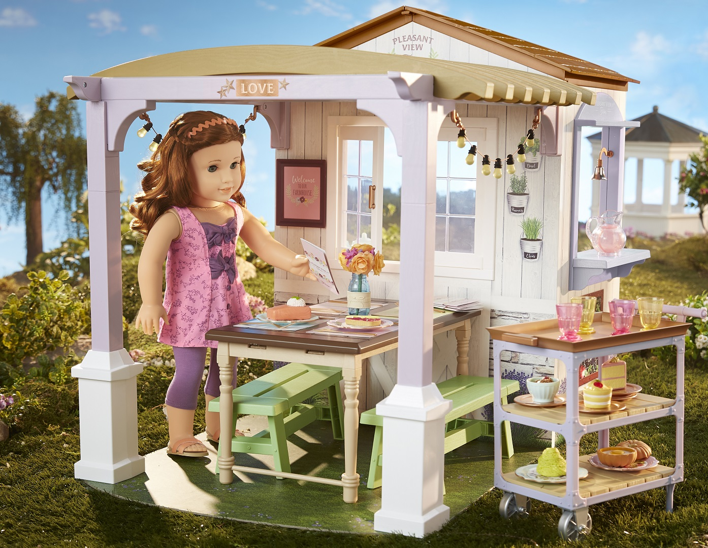 2019 American Girl Doll of the Year Family Farm Restaurant