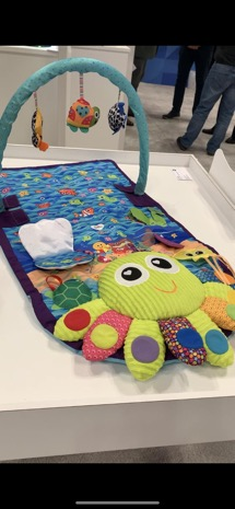 Lamaze Play Gym lying flat