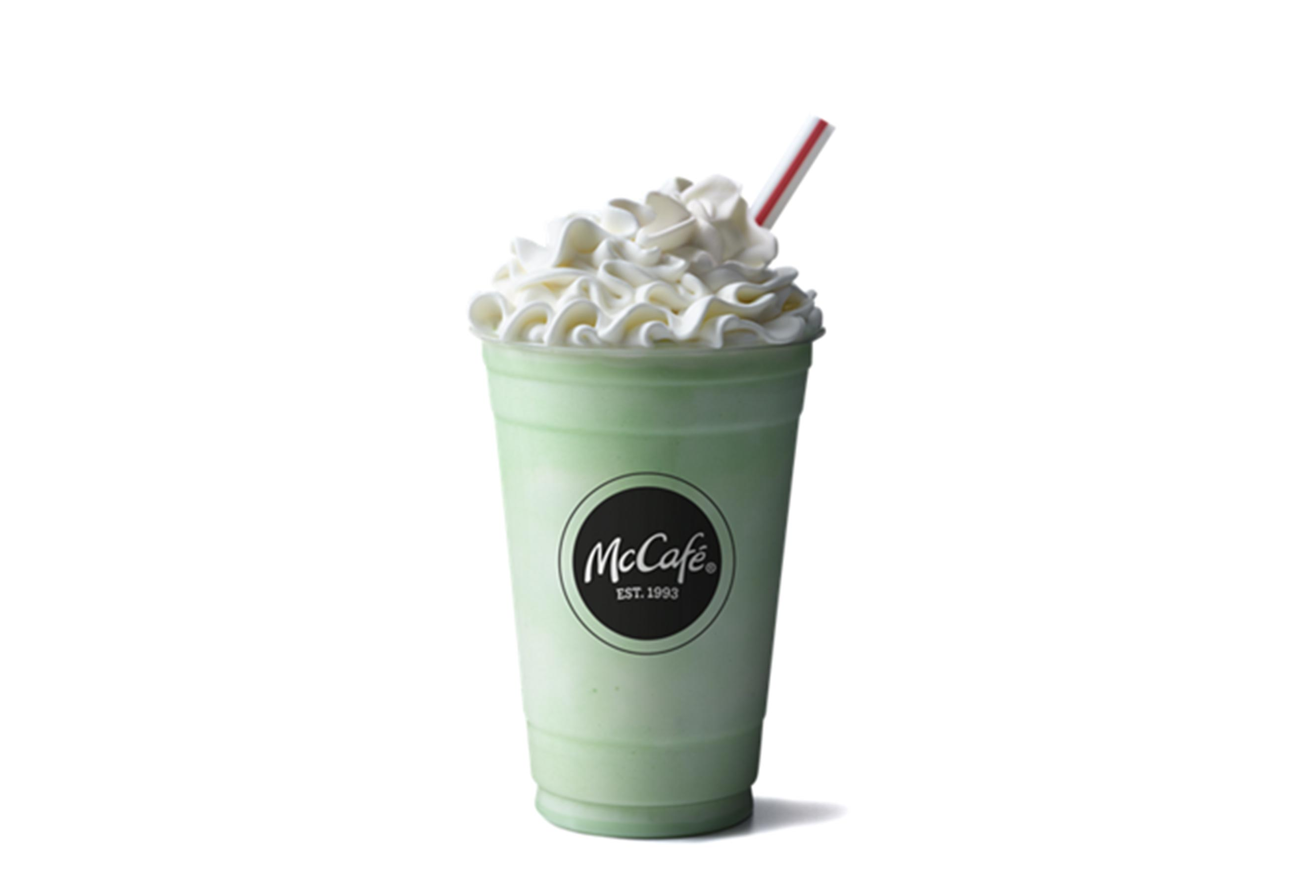 McDonald's Shamrock Shake Is Officially Back on the Menu
